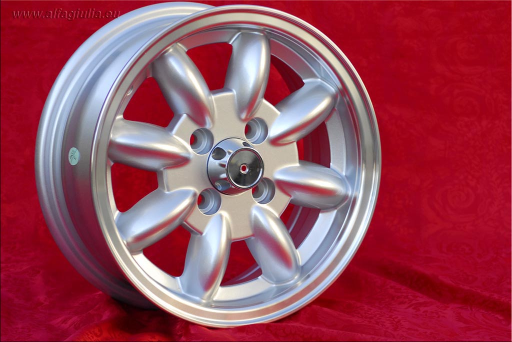 Mini Minilite Mini Mk1-3 850 1000 1275 GT Riley Elf Wolseley Hornet  5.5x13 ET25 4x101.6 c/b 65.1 mm Wheel