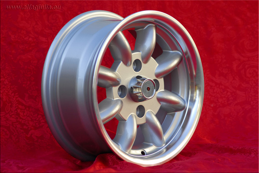 Ford Minilite Capri Taunus Escort Cortina Lotus Talbot  6x13 ET16 4x108 c/b 63.4 mm Wheel